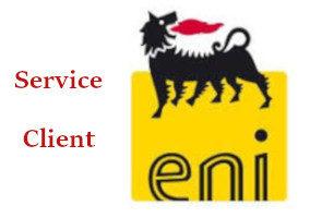Contacter service client ENI