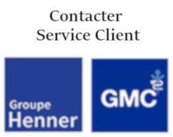 Service client Henner GMC contact