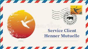 Courrier Henner Mutuelle