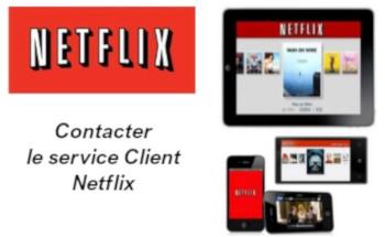 Contacter Service client Netflix