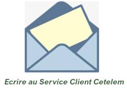 Courrier au Service client Cetelem