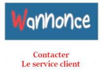 Contacter le service client de Wannonce.com