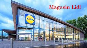 Un des 1500 magasins Lidl en France