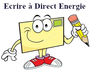 Courrier Direct Energie adresse