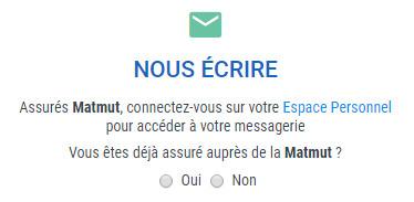 Service client Matmut en ligne