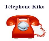 téléphone service client kiko