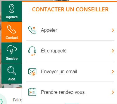 contacter service client Groupama en ligne