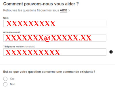 Zalando france contact email